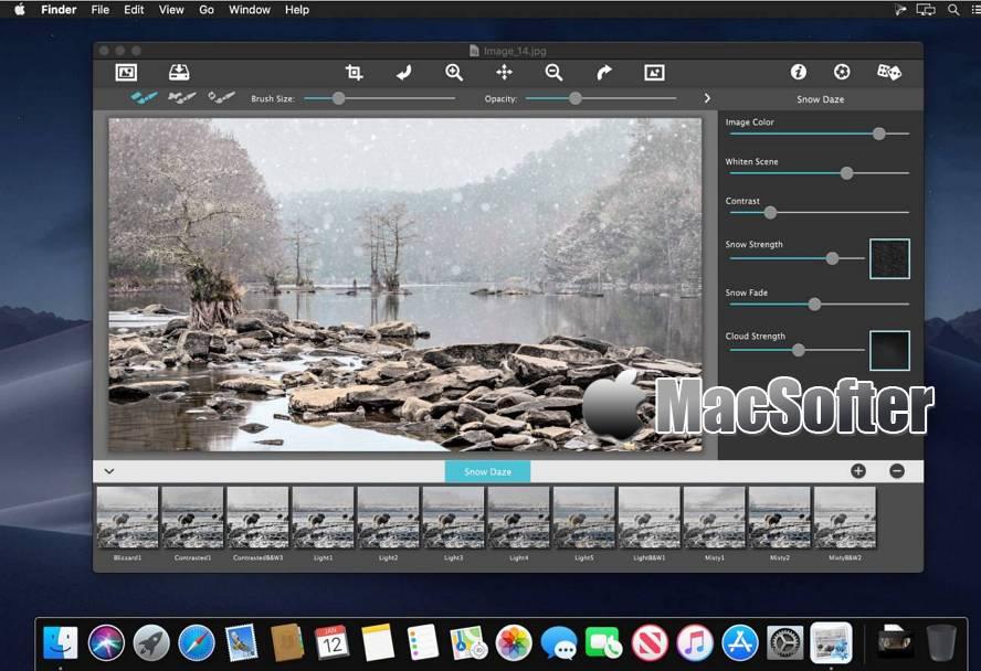 [Mac] JixiPix Snow Daze : 照片下雪特效处理软件