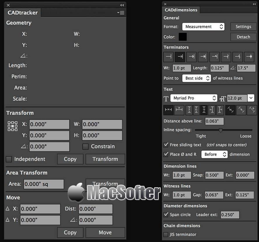 [Mac] Hot Door CADtools : Illustrator工程制图插件