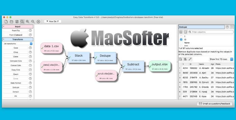 [Mac] Easy Data Transform : Excel和CSV文件格式转换工具 Mac生产力工具 第1张