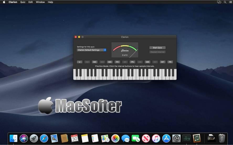 [Mac] Clarion : 音乐学习训练软件