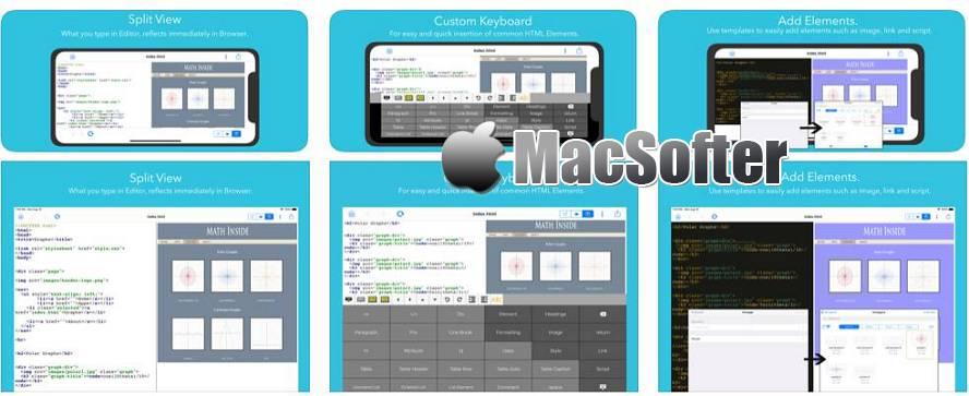 [iPhone/iPad限免] Web Playground : 支持实时预览的网页制作开发应用 iOS限免 第1张