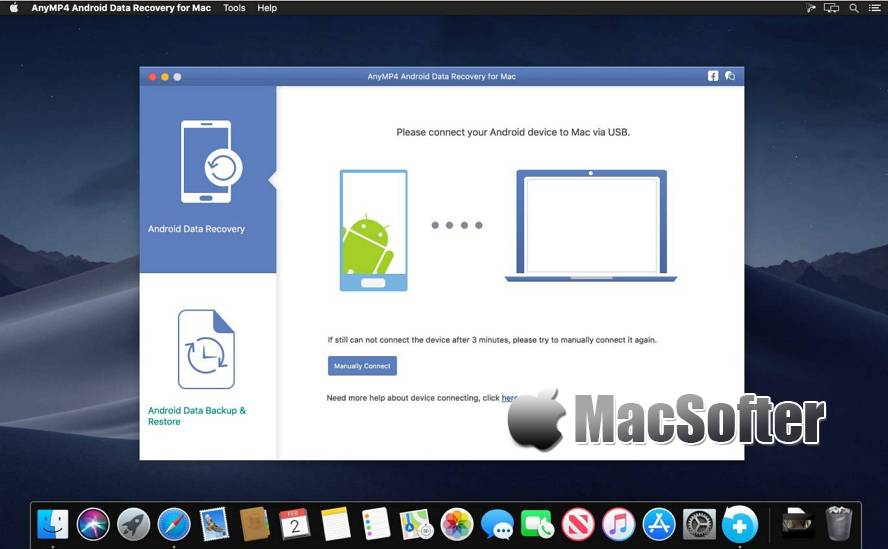 [Mac] AnyMP4 Android Data Recovery : 安卓Android设备数据恢复软件 Mac桌面工具 第1张