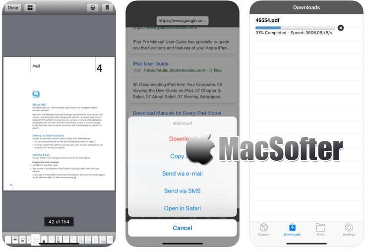 [iPhone/iPad限免] Downloadz : 网络文档图片下载工具 iOS限免 第1张