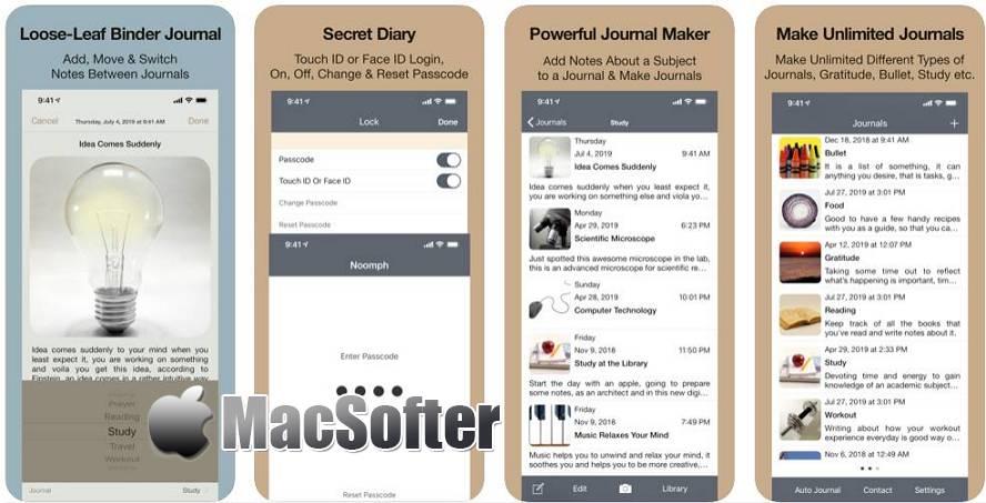 [iPhone/iPad限免] Notewrap : 方便快速的笔记软件 iOS限免 第1张