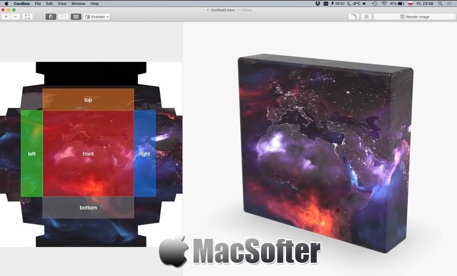 [Mac] Cardbox : 3D包装盒设计软件 Mac图像图形 第1张