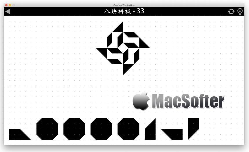 [Mac] 重叠消除 : 有趣的拼图游戏 Mac游戏 第1张