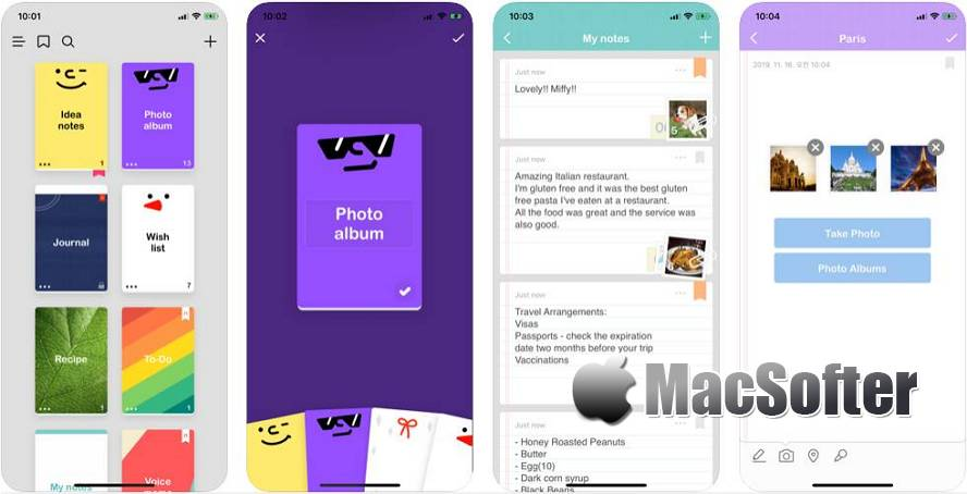 [iPhone限免] NOTE'd : 轻量方便的笔记软件 iOS限免 第1张