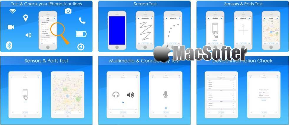 [iPhone/iPad限免] Test & Check for iPhone :iPhone/iPad硬件检测测试工具