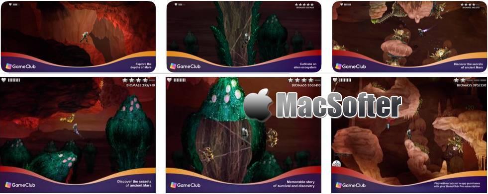 [iPhone/iPad限免] Waking Mars(火星漫步): 好玩的解谜游戏 iOS限免 第1张