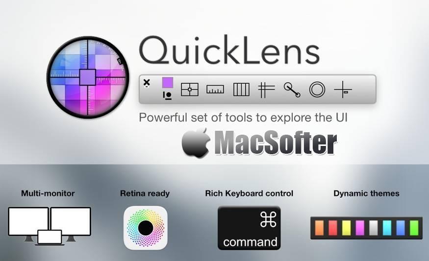 [Mac] QuickLens : UI设计多功能辅助工具