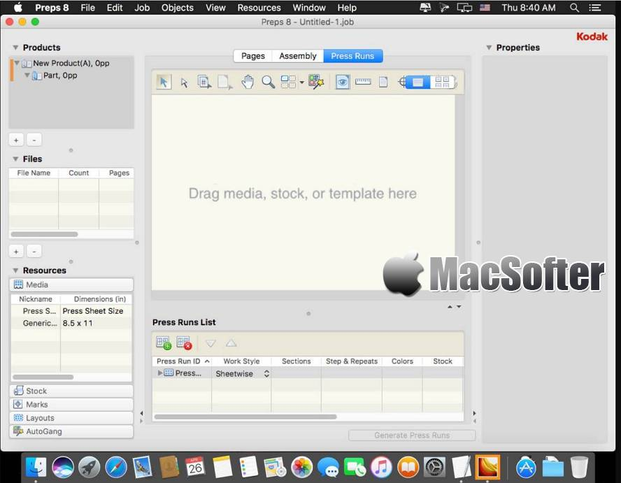 [Mac] Kodak Preps : 专业的印刷排版工具