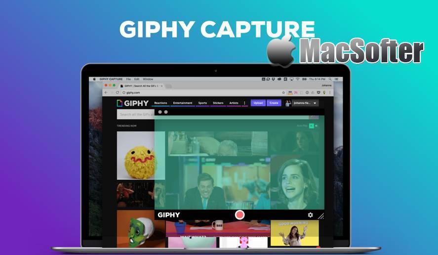 [Mac] GIPHY Capture : gif动图制作软件 Mac图像图形 第1张