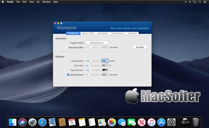 [Mac] Boinx Mousepose : 用于突出重点的演示辅助软件 Mac办公软件 第1张