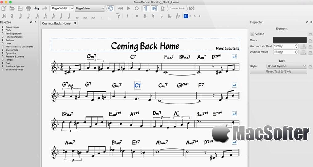 [Mac] MuseScore :专业的乐谱软件