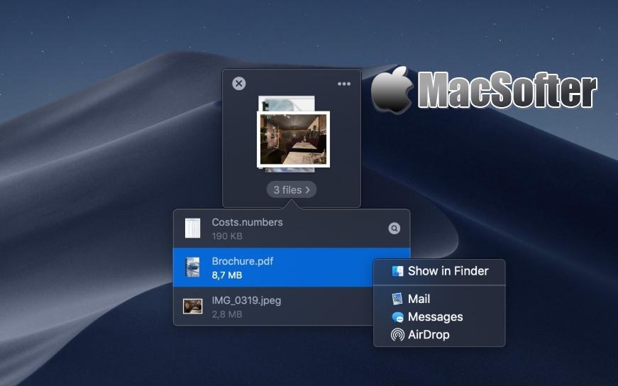 [Mac] Dropover : 增强型拖拽操作工具 Mac生产力工具 第1张