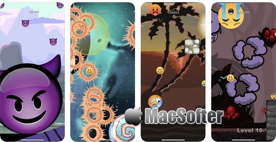 [iPhone/iPad限免] Badmojis :Emoji 表情包冒险游戏