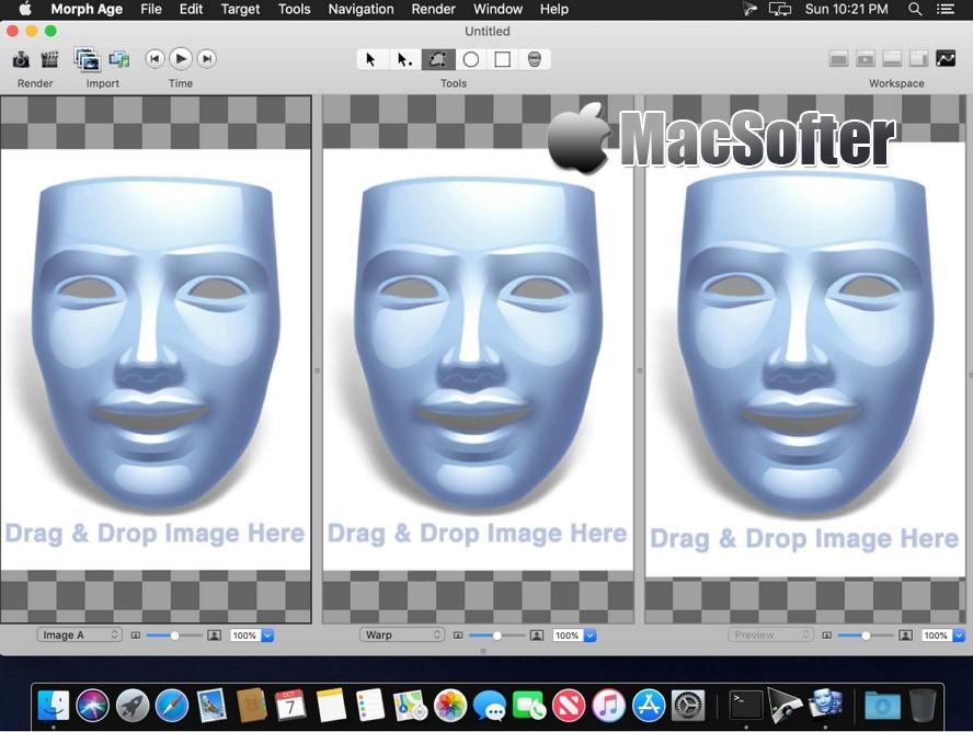 [Mac] Morph Age : 面容整合转换工具