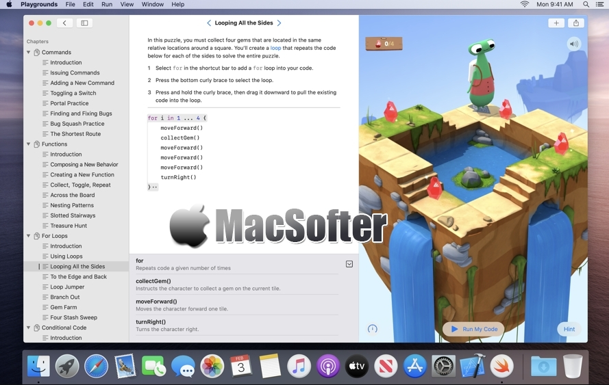 [Mac] Swift Playgrounds : Swift学习软件