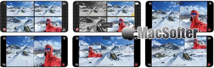 [iPhone限免] Doubletake by FiLMiC Pro : iPhone多机位拍摄App应用 iOS限免 第1张