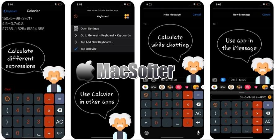 [iPhone/iPad限免] Calcvier : 输入法计算器 iOS限免 第1张