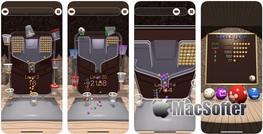 [iPhone/iPad限免]100 Balls 3D : 3D球益智游戏 iOS限免 第1张