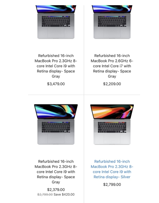 苹果美国官网官翻版16寸MacBook Pro上线 苹果新闻 第1张