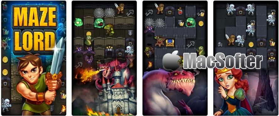 [iPhone/iPad限免] Maze Lord : 手绘画风的冒险益智游戏 iOS限免 第1张