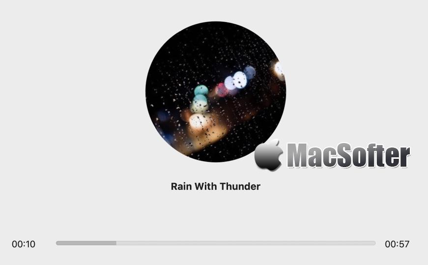 [Mac] 享静 : 实用的白噪音软件 Mac辅助工具 第1张