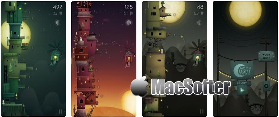 [iPhone/iPad限免] Moonlight Express : 圣诞老人礼物派送休闲小游戏