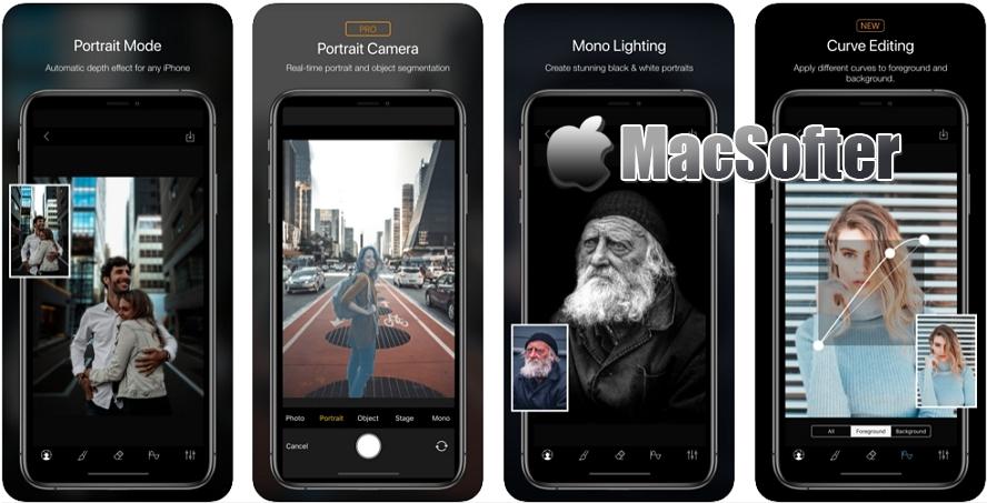 [iPhone限免] Phocus :景深背景虚化效果照片编辑器 iOS限免 第1张