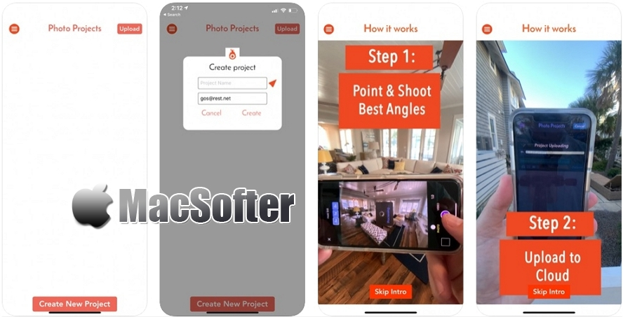 [iPhone限免] Fire Vibe : 房地产VR实景拍摄制作软件 iOS限免 第1张