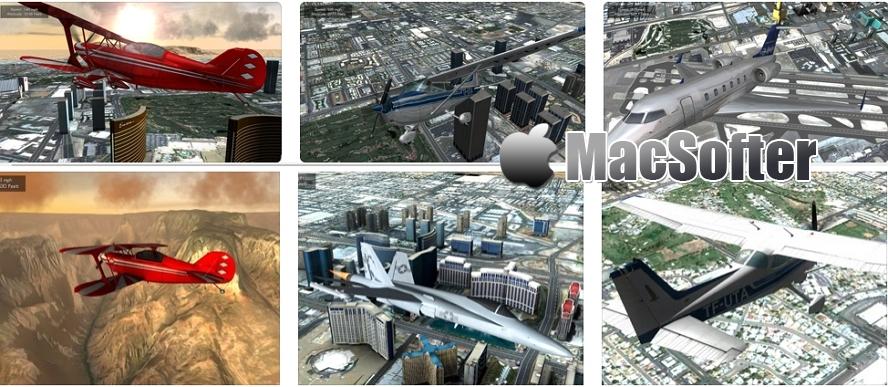 [iPhone/iPad限免] Flight Unlimited Las Vegas : 极限飞行模拟游戏 iOS限免 第1张