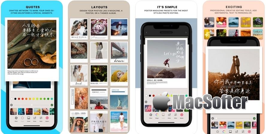 [iPhone/iPad限免] LAYOUT 拍立得相机 : 文青风拍立得相机 iOS限免 第1张