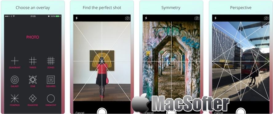 [iPhone限免] Composition Cam :对称艺术相机软件 iOS限免 第1张