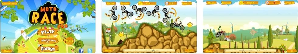[iPhone/iPad限免] 摩托达人增强版 : 横版摩托特技游戏