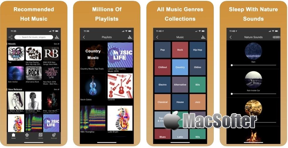 [iPhone/iPad免费] YoungTunes :免费听歌及免费音乐下载工具 iOS限免 第1张