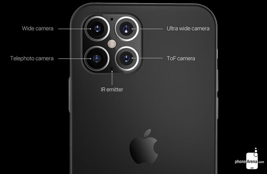 新款iPhone 12机身设计细节曝光:刘海不会消失、镜头会变