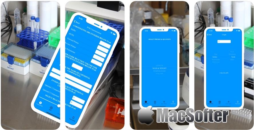 [iPhone限免] STEMate :多功能实验室计算器 iOS限免 第1张