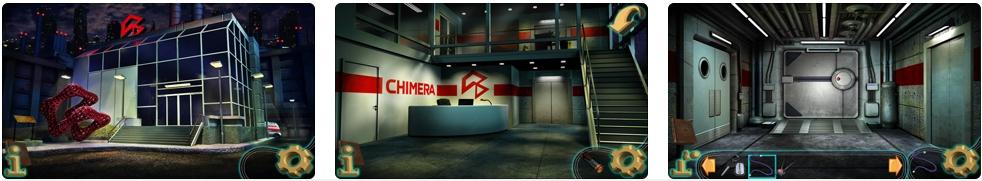 [iPhone/iPad限免] The Secret of Chimera Labs : 实验室主题的密室逃脱游戏