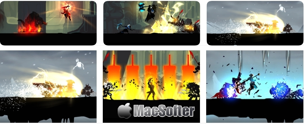 [iPhone/iPad限免] Shadow Of Death: Premium Games - 耐玩的横版闯关游戏 iOS限免 第1张