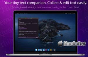 [Mac] Tot : 简单小巧的笔记软件