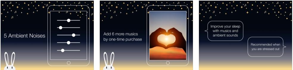[iPhone/iPad限免] Miminy Relax : 放松轻音乐软件