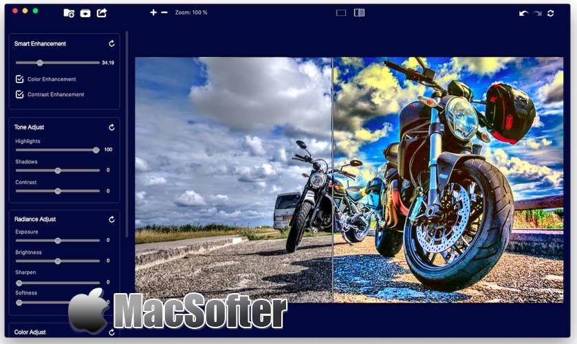 [Mac] Image Enhance Pro : 照片HDR优化处理软件