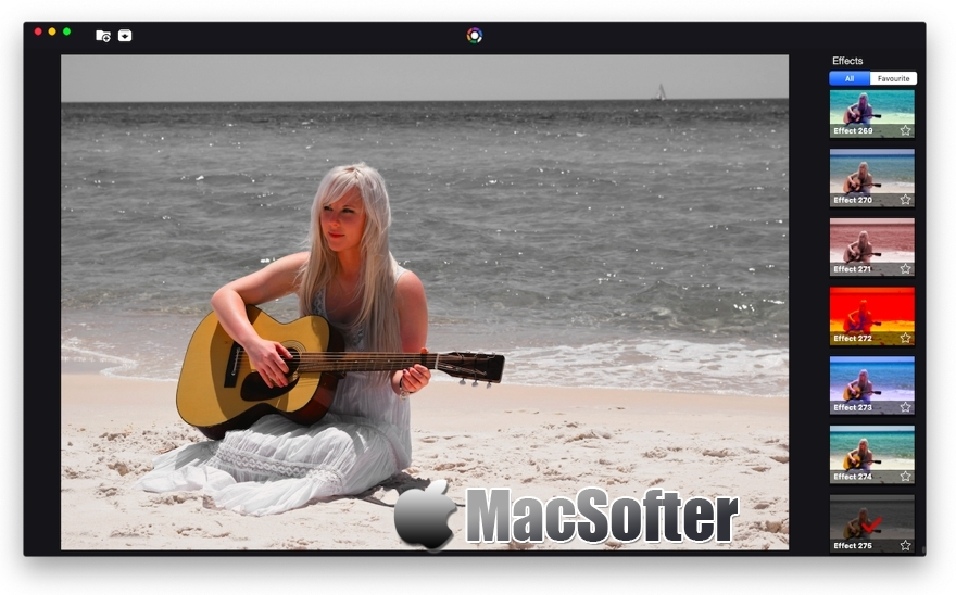 [Mac] Photo Effects Pro : 照片滤镜特效处理工具