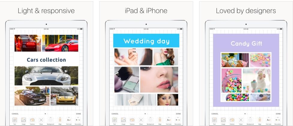 [iPhone/iPad限免] Plotboard : 照片拼图软件