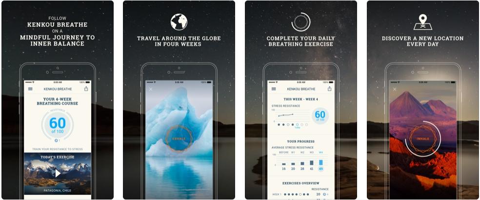[iPhone限免] Breathe Pro :放松减压的呼吸练习器 iOS限免 第1张