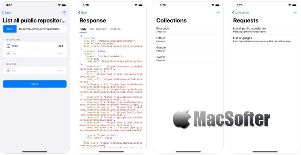 [iPhone/iPad限免] HTTP Fish : 用于APIs测试的http客户端工具 iOS限免 第2张