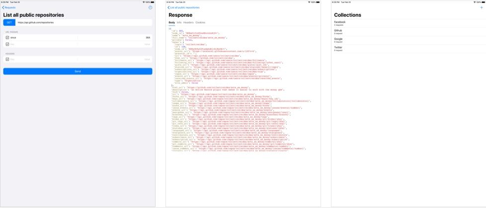 [iPhone/iPad限免] HTTP Fish : 用于APIs测试的http客户端工具