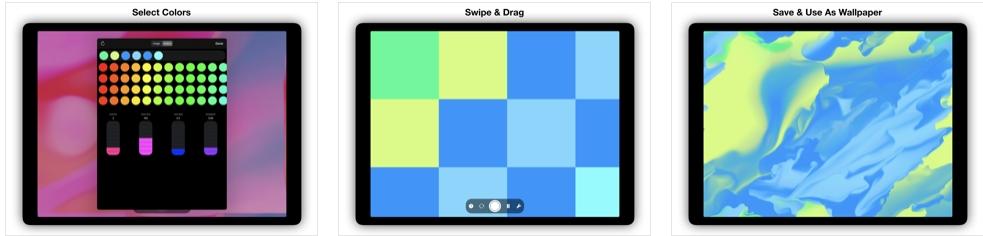 [iPhone/iPad限免] Fluid Wallpaper Maker :动态桌面壁纸软件