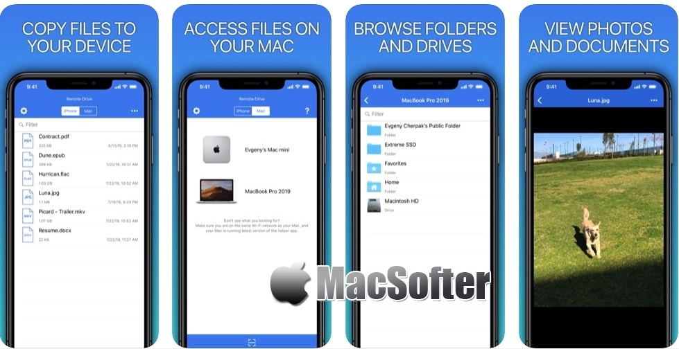 [iPhone/iPad限免] Remote Drive for Mac - Pro : 把iPhone、iPad变成Mac专用移动硬盘 iOS限免 第1张
